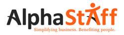 AlphaStaff logo