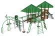 Playground design for Walker Park project by Pacific Play Systems, Inc.