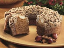 Pumpkin Coffee Cake from The Swiss Colony