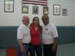Ron Peck, Jordan Mouton, Coach Willy Cahill