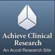Low Back Pain Clinical Trial Now Enrolling at Achieve Clinical Research in Birmingham, Alabama; Accepting M/F Patients with Chronic Low Back Pain Age 18-80