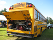 Clean emissions CNG School Bus