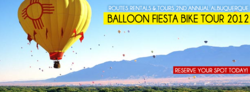Routes Rentals & Tours Offers Spectators New View of Albuquerque International Balloon Fiesta by Bicycle.