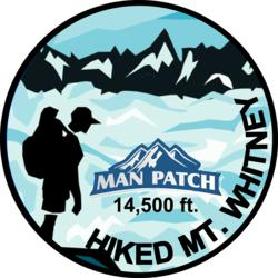 Hiked Mt. Whitney Man Patch