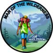 Man of the Wilderness - Man Patch