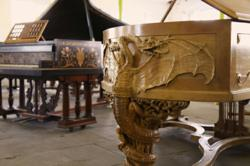 The Golden Age of Pianos: An exhibition of luxurious, art cased pianos 29th August - 16th September 2012 at Besbrode Pianos