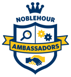 NobleHour Ambssador Internship Program Logo