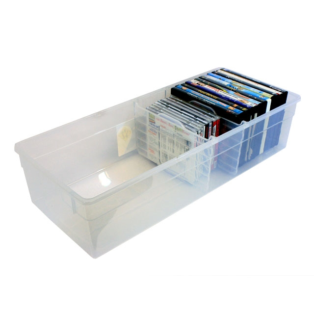 Iris Media Box With Dividers