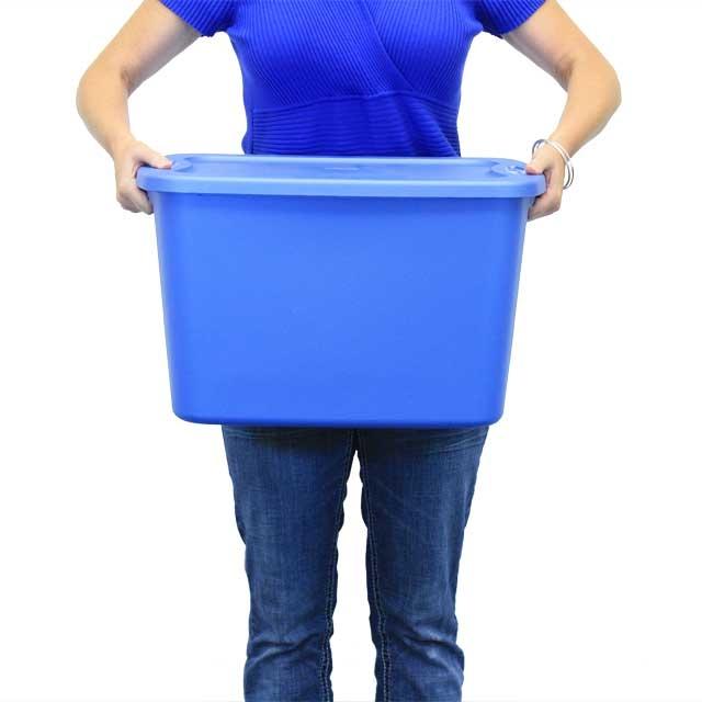 Sterilite 10 Gallon Tote Box ...