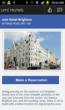 umi Hotels mobile app screenshot
