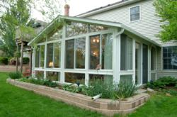 A Zephyr Thomas Home Improvement Sunroom Room Addition