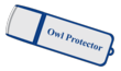 The Owl Protector comes on a one-gig flash drive and is ready to go to work for you immediately!