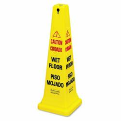 Four-Sided Caution Safety Cone
