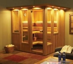 a guide to home steam baths and saunas and their health benefits is introduced by. Black Bedroom Furniture Sets. Home Design Ideas