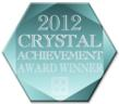 Crystal Achievement Award 2012