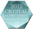 Crystal Achievement Award 2012