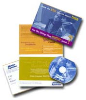 Digital Flex Medias Full-Color Shaped CD/DVD Business Cards