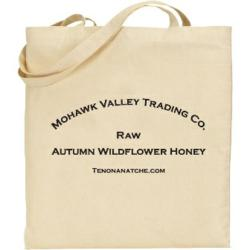 Raw Autumn Wildflower Honey Tote Bag