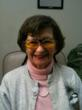 Patient wearing New E-Scoop glasses to help correct vision loss due to age related macular degeneration (ARMD)