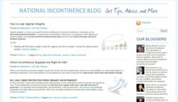 National Incontinence's new blog will offer top incontinence tips and advice.