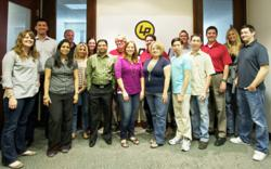 The LeadPile team at LeadPile's headquarters in Phoenix, AZ