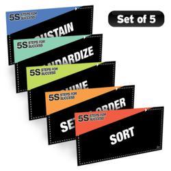 5S Steps Poster Pack
