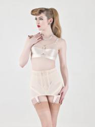 bullet bra, girdle, vintage lingerie