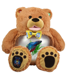 Brown Bear Teddy Tank