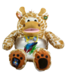 Giraffe Teddy Tank