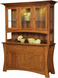 The Arts and Crafts Hutch possesses a timeless beauty.