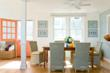 interiors, beach house interiors, color, colorful interiors