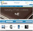 A snapshot of the Cases.com home page