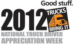 National Truck Driver Appreciation Week 2012 (NTDAW)