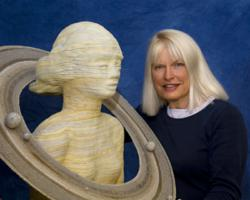 Paula Rice with Saturn from the Planet Series