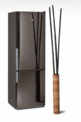 24 Inch Torre Black Refrigerator by Fagor