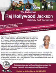 Raj Hollywood Jackson Celebrity Golf Tournament