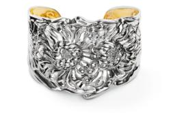 Traditional Home's choice for Classic Woman: The Chrysanthemum Cuff.
