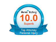 Avvo Rating for The Kyle Law Firm, a practice of New Braunfels personal injury and criminal defense attorneys