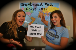 GoAbroad Fall Fairs 2012