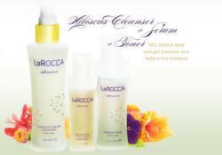 LaRocca Skincare Hibiscus Line
