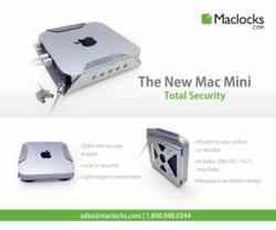 Apple New Mac mini Mount and Lock by Maclocks
