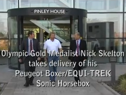 Nick Skelton Peugeot