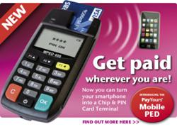 Pay YoursLtd Mobile PED