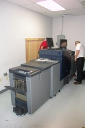 Installation of the NEW Konica Minolta C800 at the Flottman Company, Cincinnati, Ohio - Northern Kentucky