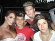 Jenna Bentley and One Direction - MTV Video Awards 2012