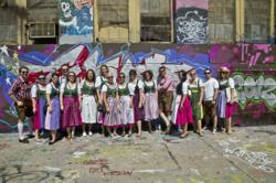 Austrian Dirndl Ambassadors in Long Island City