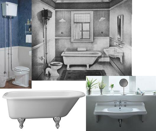 A guide to edwardian bathroom style authentic period for Period bathroom ideas