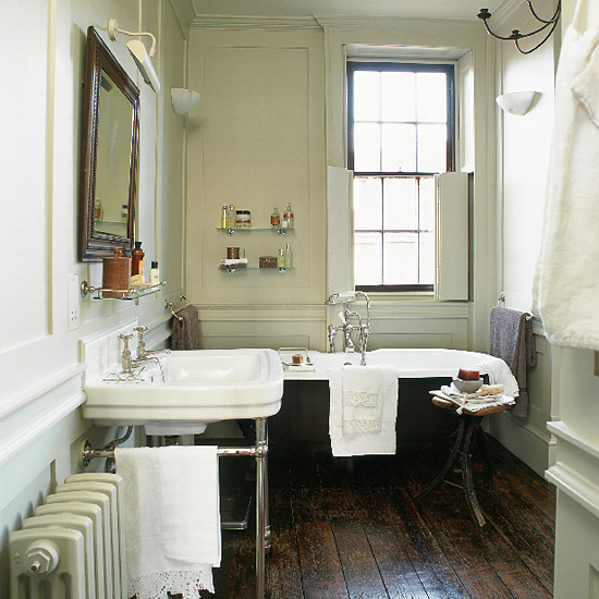 A guide to edwardian bathroom style authentic period for English cottage bathroom ideas