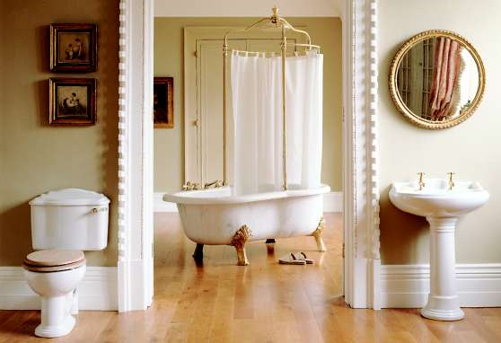 A Guide To Edwardian Bathroom Style Authentic Period Design For The Bathroom Is Introduced By Homethangs Com Home Improvement Super Store