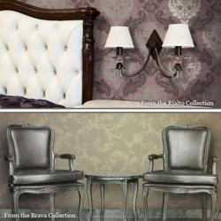 The Brava and Rialto collections now available online, exclusively at Wallpaper Wholesaler.